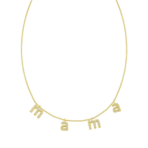 It's All in a Name™ Lower Case Personalized Necklace