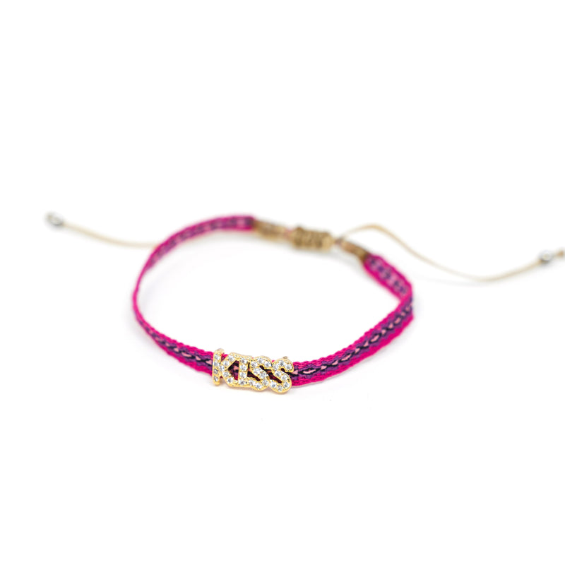 Adjustable Lucky Cord Bracelets JEWELRY The Sis Kiss Kiss