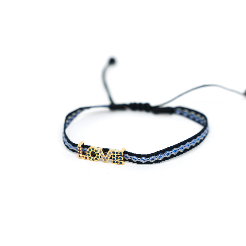 Adjustable Lucky Cord Bracelets JEWELRY The Sis Kiss Love
