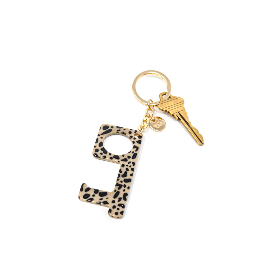 Hands-Free Keychains HOME The Sis Kiss Leopard Print
