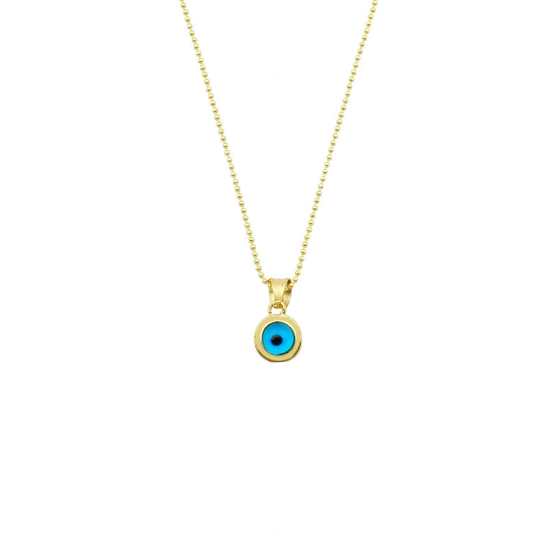 Evil Eye on Dainty Chain The Sis Kiss
