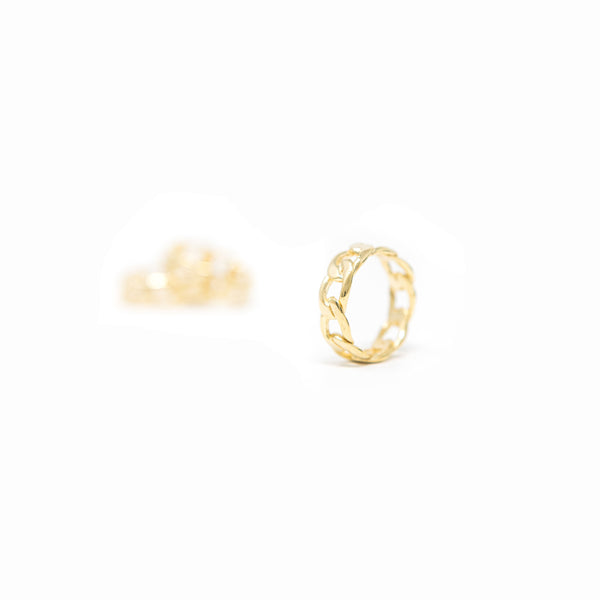 Gold Link Rings