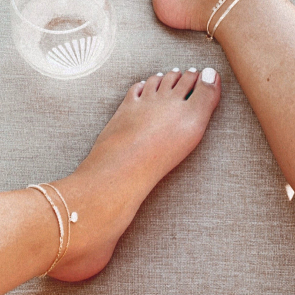 Shell Anklet JEWELRY The Sis Kiss