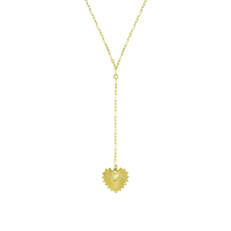 Sacred Heart Y Style Necklace JEWELRY The Sis Kiss