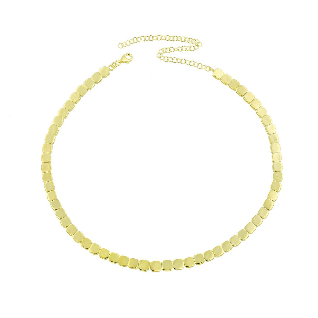 Splendid Squares Linked Choker JEWELRY The Sis Kiss