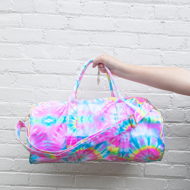 Summer Love Tie-Dye Duffel Bag