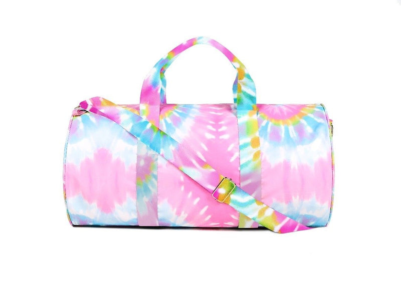 Summer Love Tie-Dye Duffel Bag BAG The Sis Kiss Pastel Tie-Dye