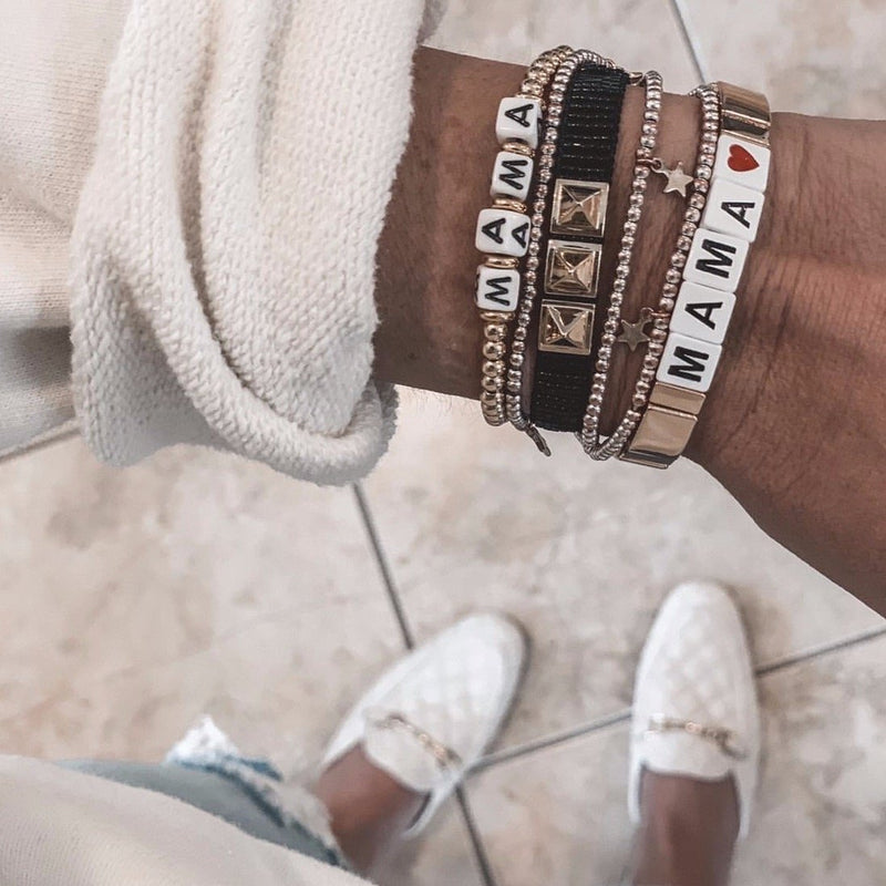 Say it Tile Bracelets JEWELRY The Sis Kiss