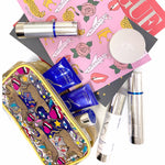 The Sis Kiss Graphic Cosmetic Bag