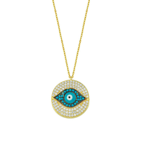 Katie's Evil Eye Necklace