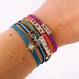 Adjustable Lucky Cord Bracelets JEWELRY The Sis Kiss