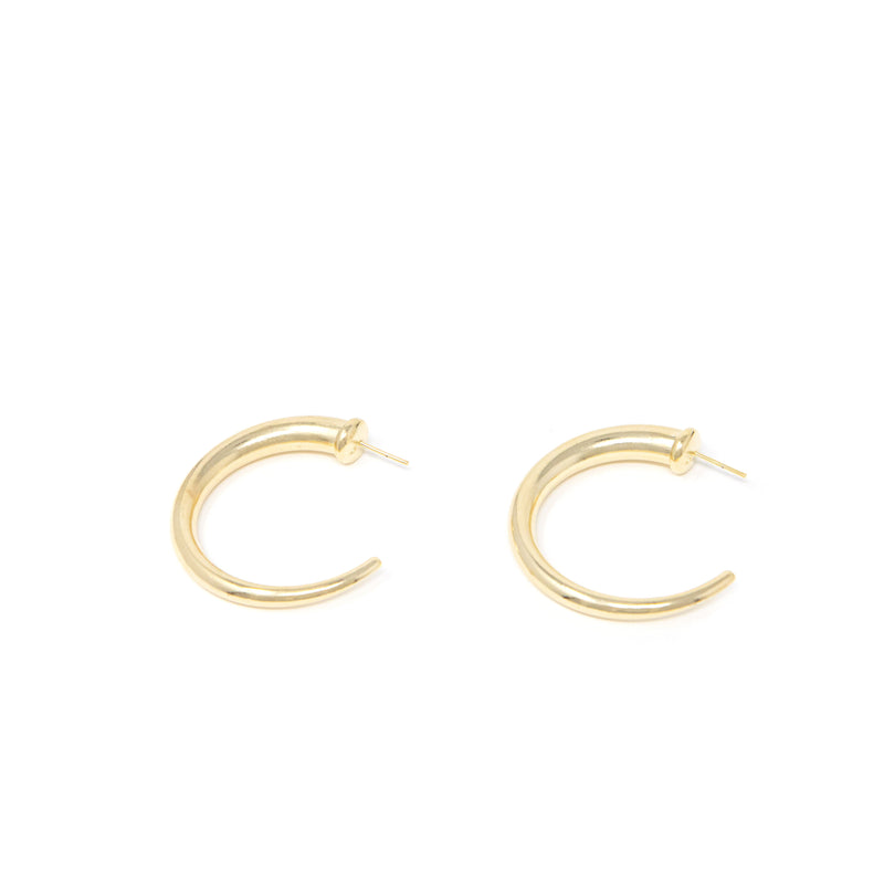 Just for You Gold Hoops JEWELRY The Sis Kiss Large
