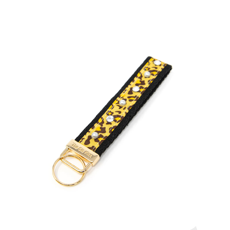 Leopard and Tie Dye Keychains ACCESSORY The Sis Kiss Classic Leopard Print