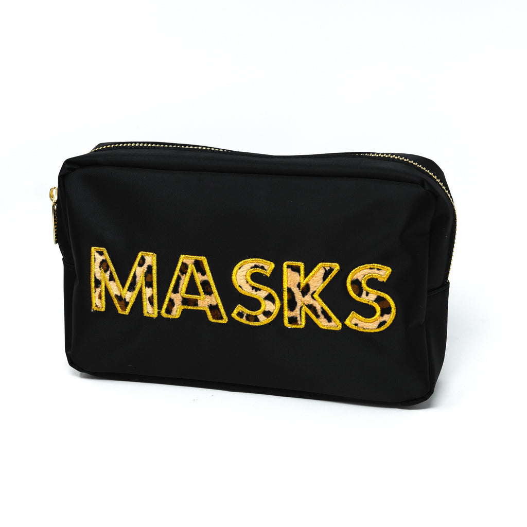 Leopard Masks and Pouches ACCESSORY The Sis Kiss POUCH
