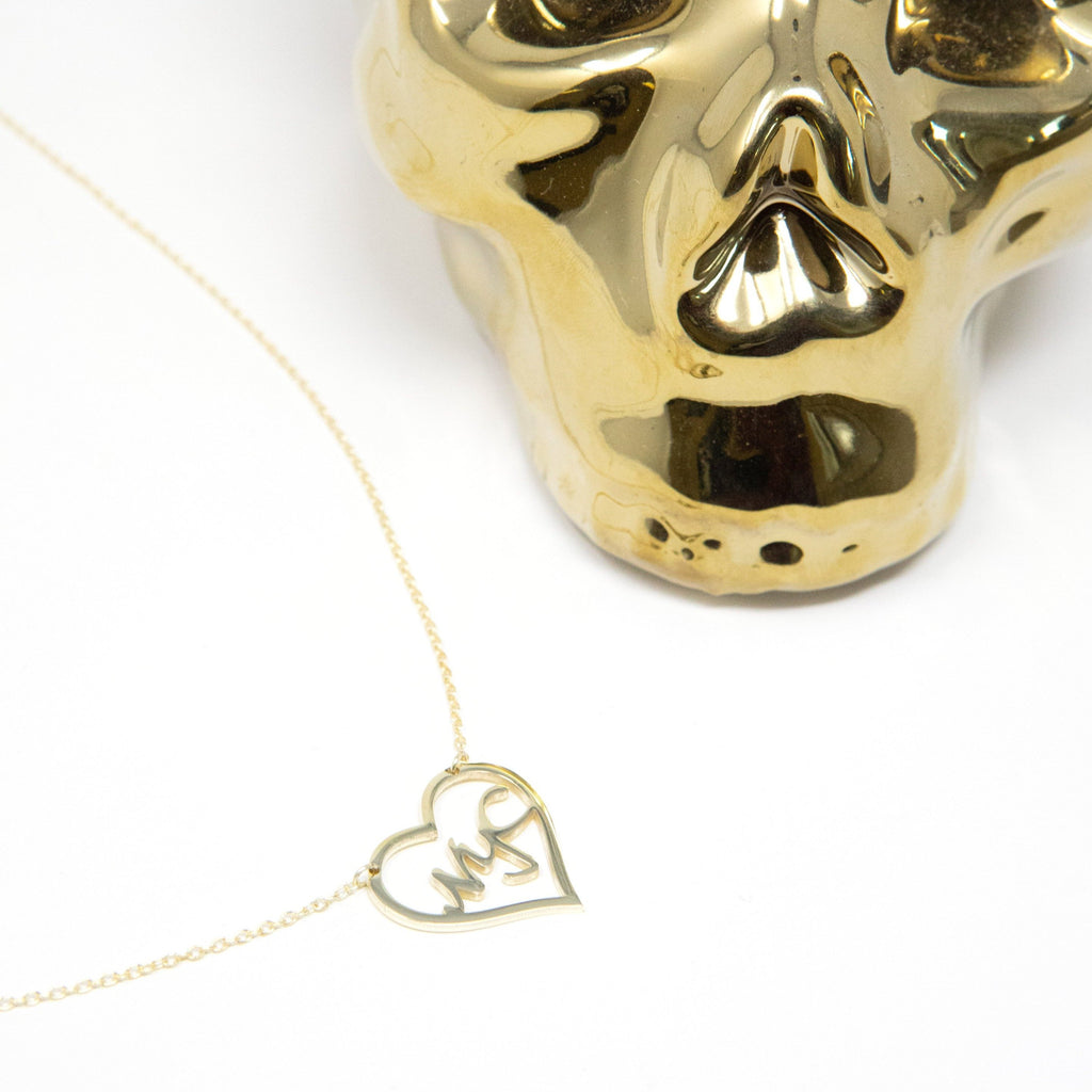 Love your CITY Custom Necklace JEWELRY The Sis Kiss Gold