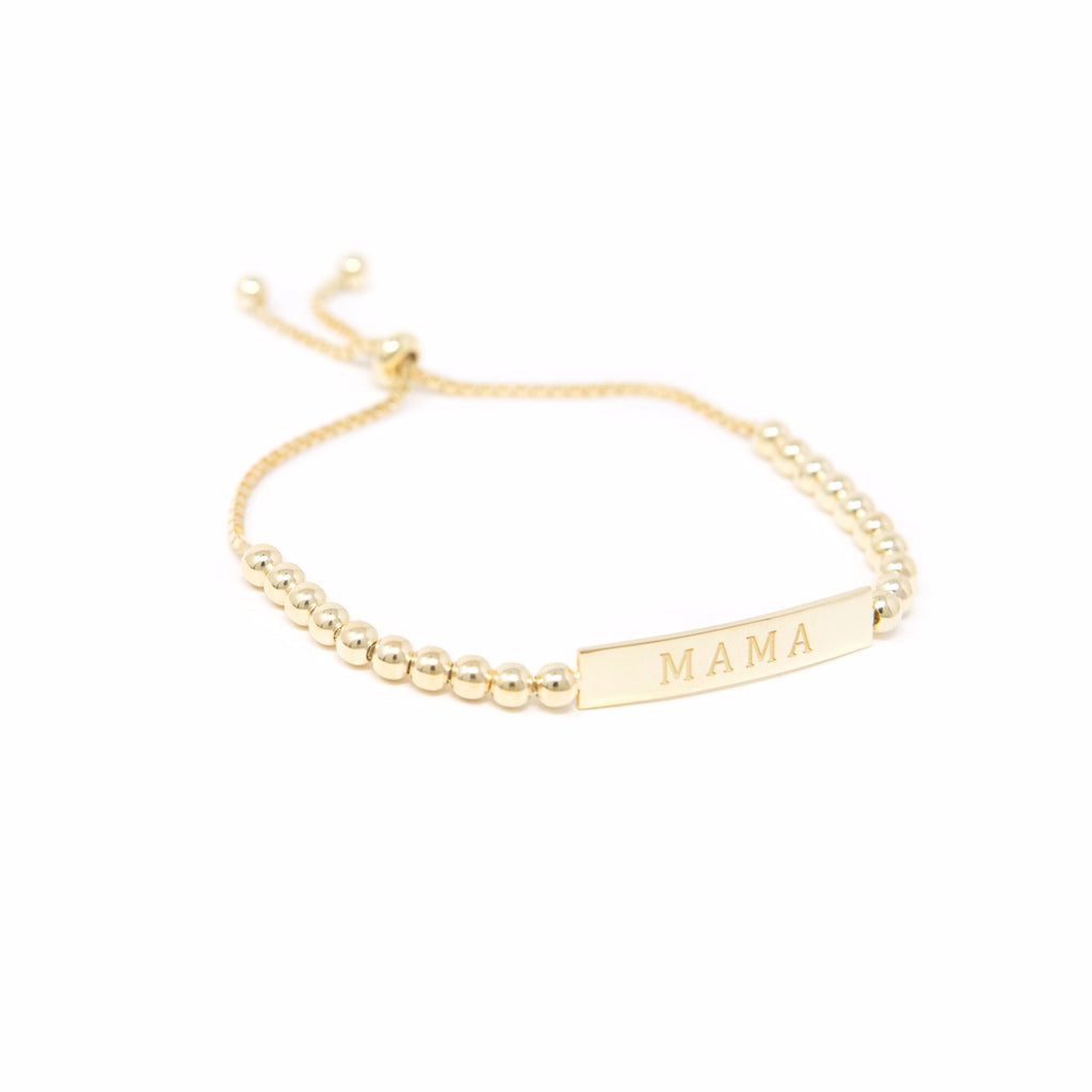 Mama Nameplate Bracelet JEWELRY The Sis Kiss