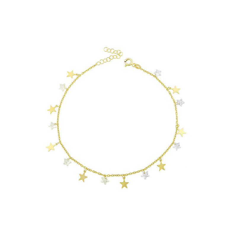 Star Charm Anklet JEWELRY The Sis Kiss
