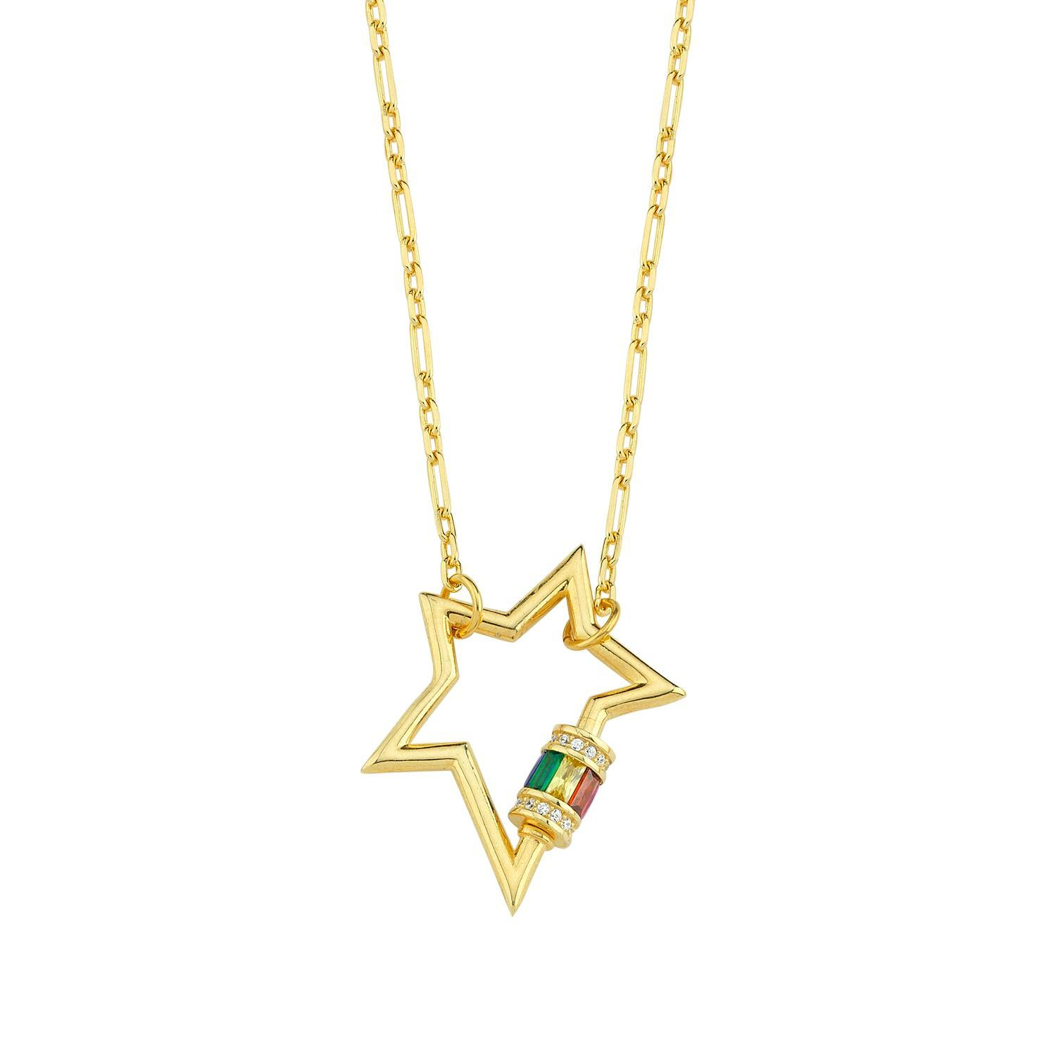 Rainbow Rockstar Necklace