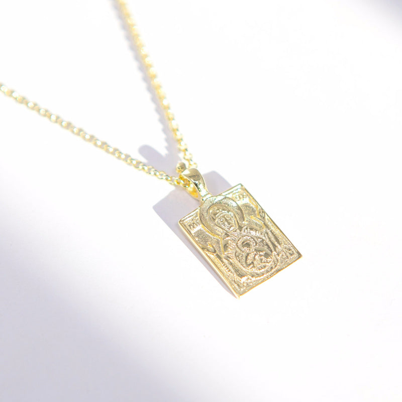 Share the Faith - Rectangular Pendants JEWELRY The Sis Kiss Baptism Pendant