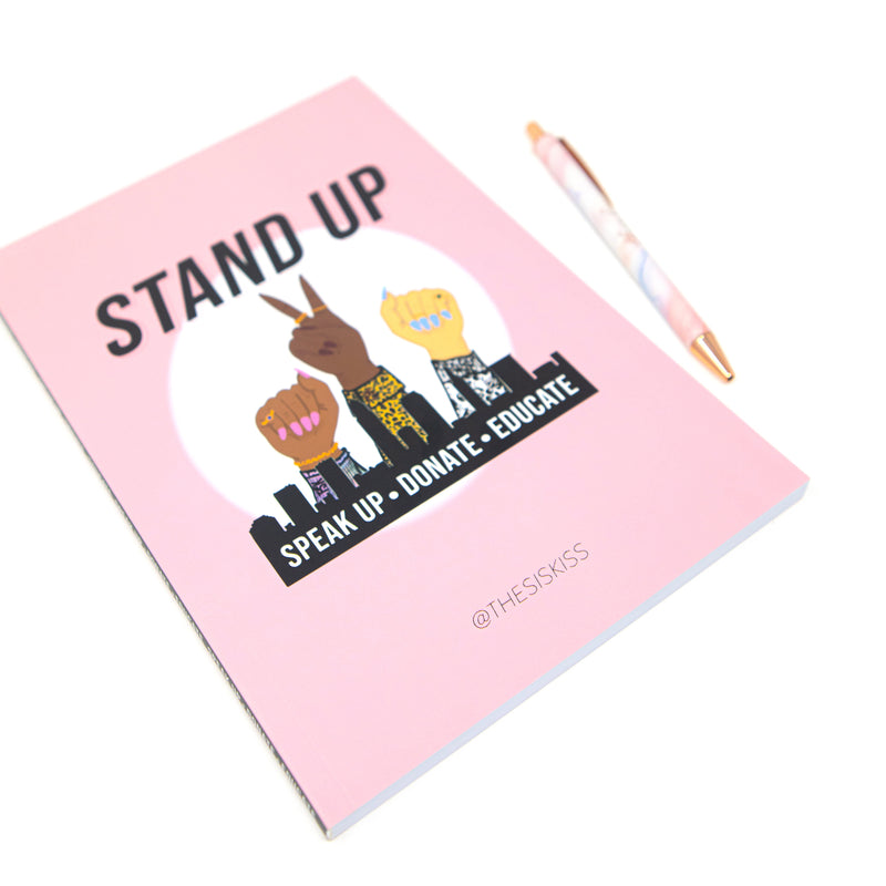 The Sis Kiss Notebooks HOME The Sis Kiss Stand Up