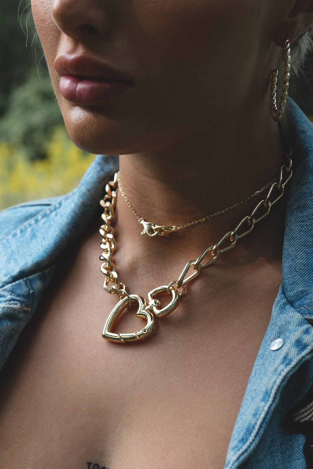 Linked Lobster Clasp Choker JEWELRY The Sis Kiss