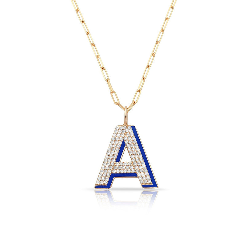 TSK Park Avenue Diamond Pendant JEWELRY The Sis Kiss 14k Rose Gold