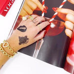 Sis Kiss Temporary Tattoos ACCESSORY The Sis Kiss