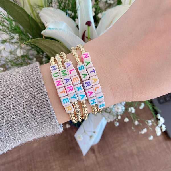 Custom Beaded Bracelet + Mommy and Me!
