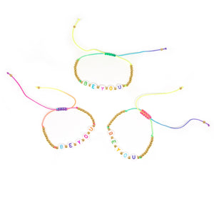 Rainbow Bead BE YOU Bracelet