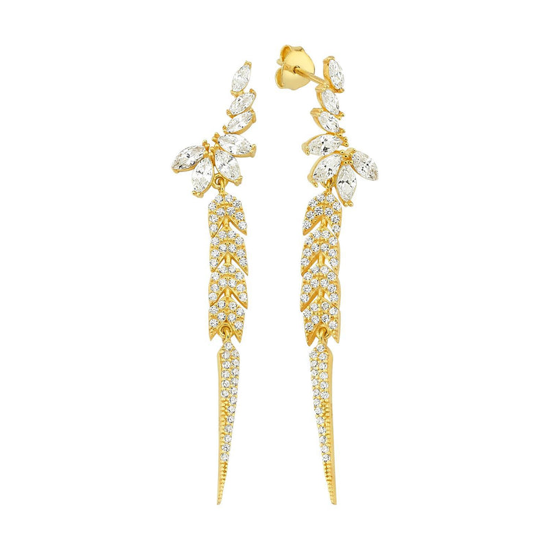 The Speakeasy Drop Earrings