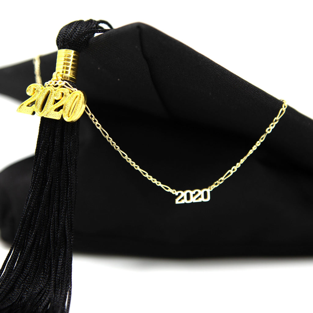 2020 Grad Necklace JEWELRY The Sis Kiss
