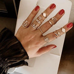 TSK Diamond Eyes Serpent Ring JEWELRY The Sis Kiss