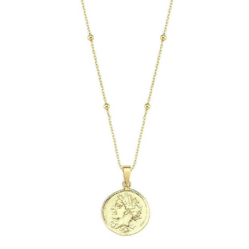Layer them up Coin Necklace