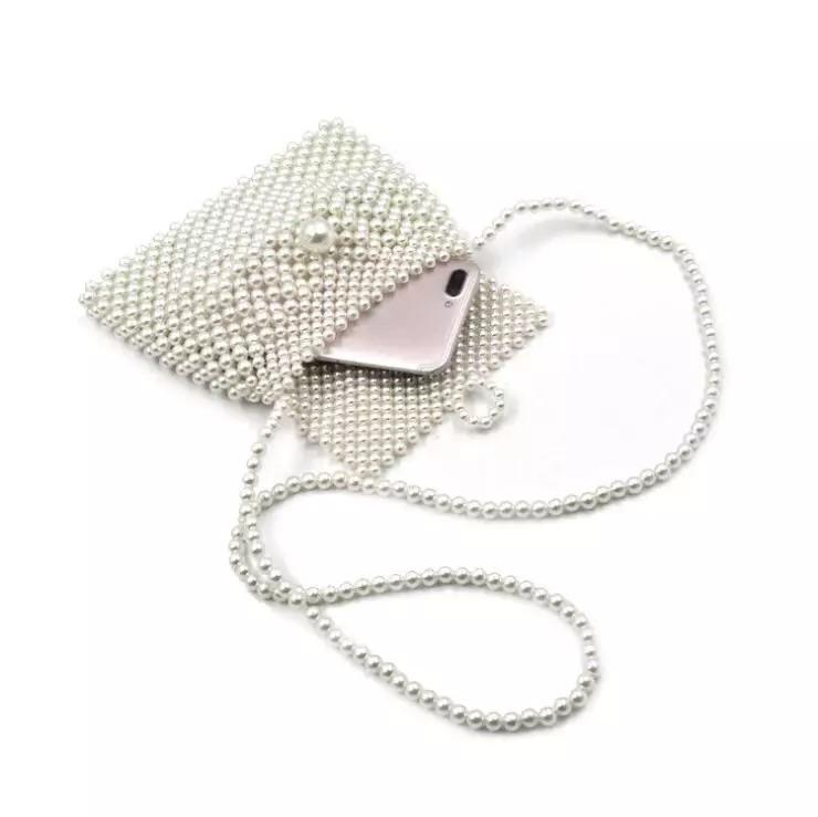 Pearl Purse ACCESSORY The Sis Kiss