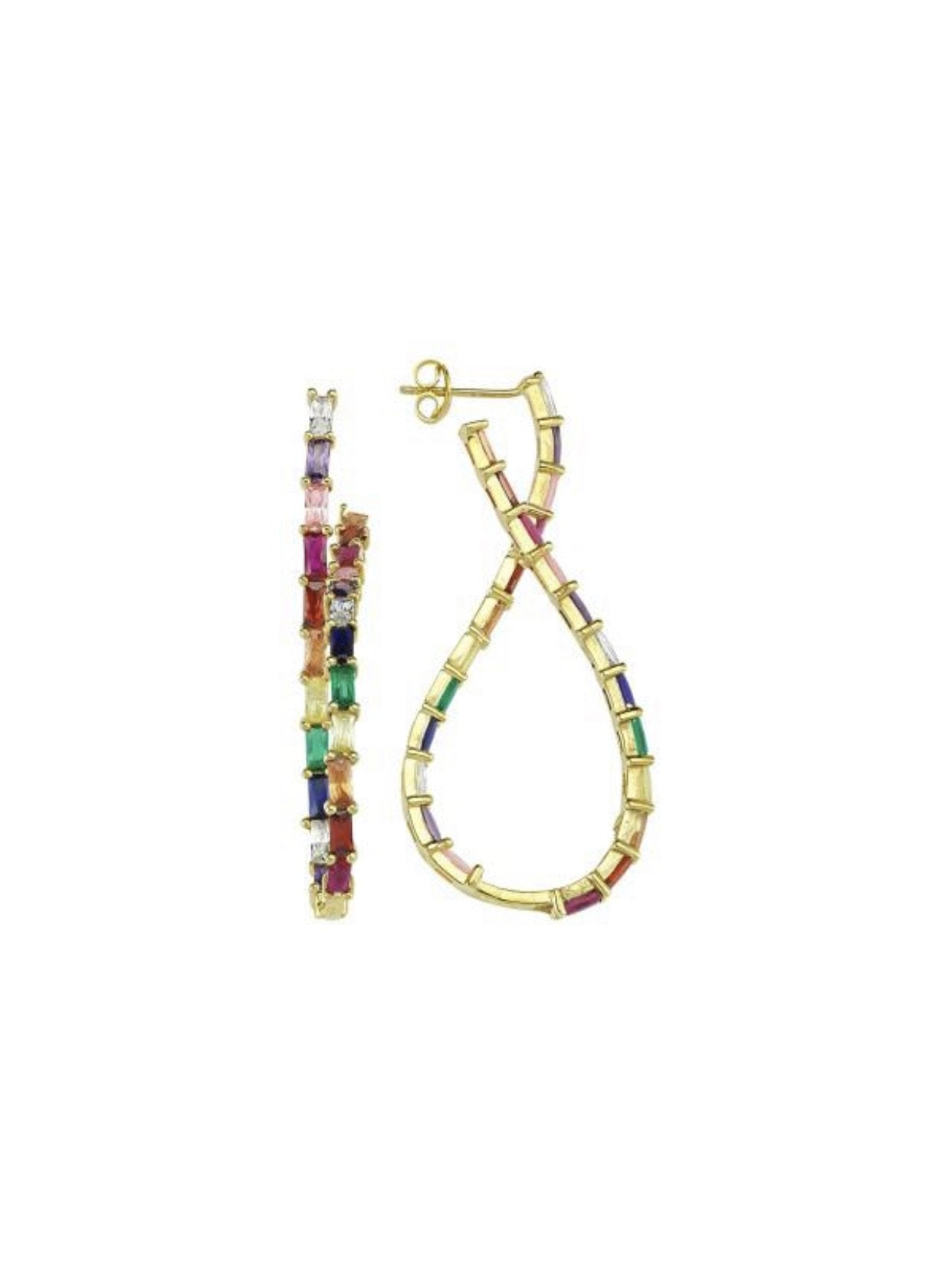 Figure 8 Gem Earrings
