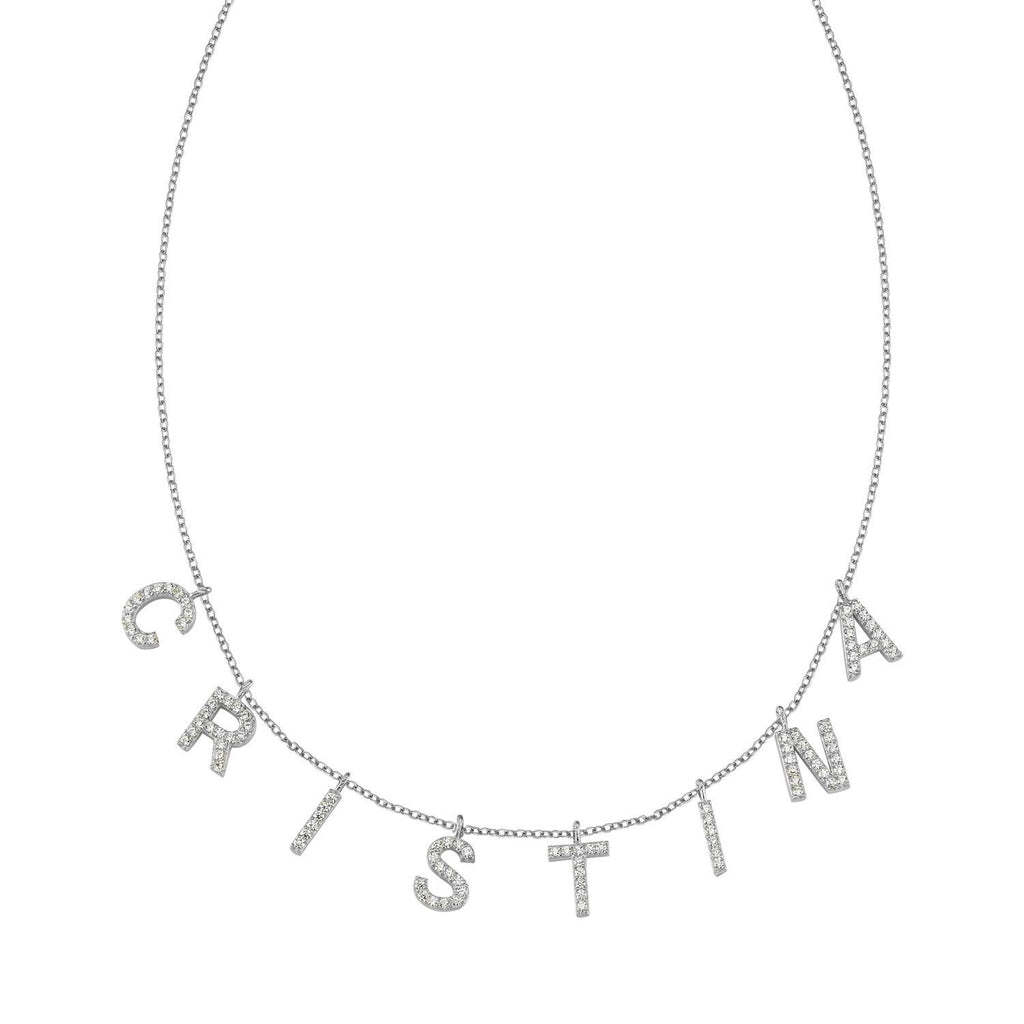 c616fe183 It's All in a Name Personalized Necklace – The Sis Kiss