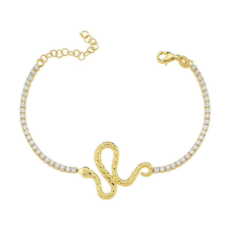 Snake Tennis Bracelet JEWELRY The Sis Kiss