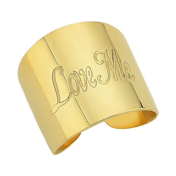 Custom Wrap Gold Adjustable Ring