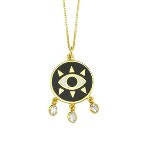 Evil Eye Dreamcatcher Necklace