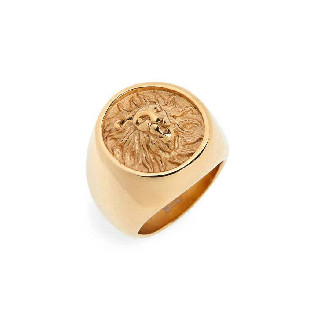 Leo Lion Ring JEWELRY The Sis Kiss