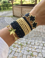 Large Star Beaded Bracelet JEWELRY The Sis Kiss