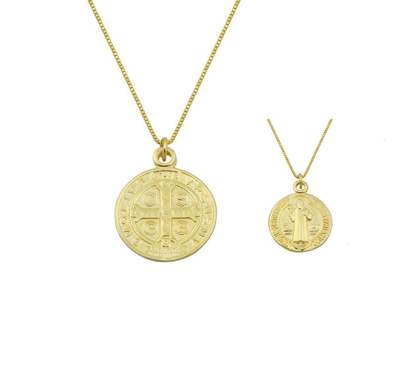 Medal Pendant Necklace JEWELRY The Sis Kiss