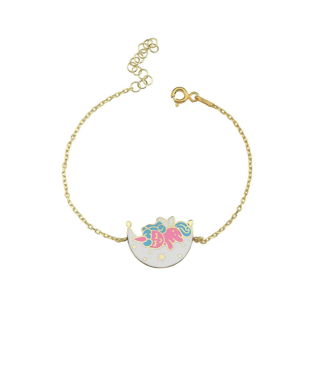 Children's Unicorn Bracelet JEWELRY The Sis Kiss