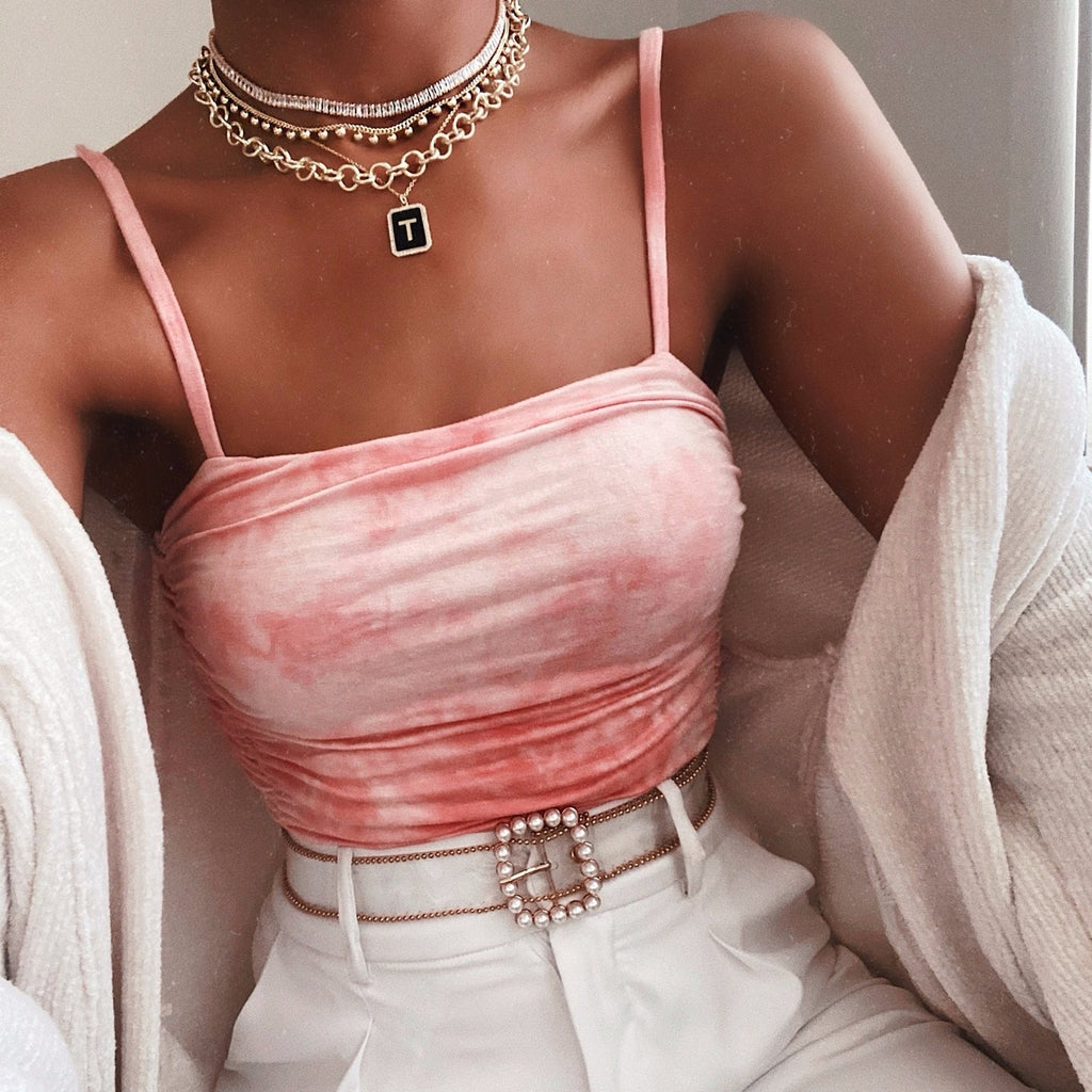 Lovely Links Gold Choker necklace The Sis Kiss
