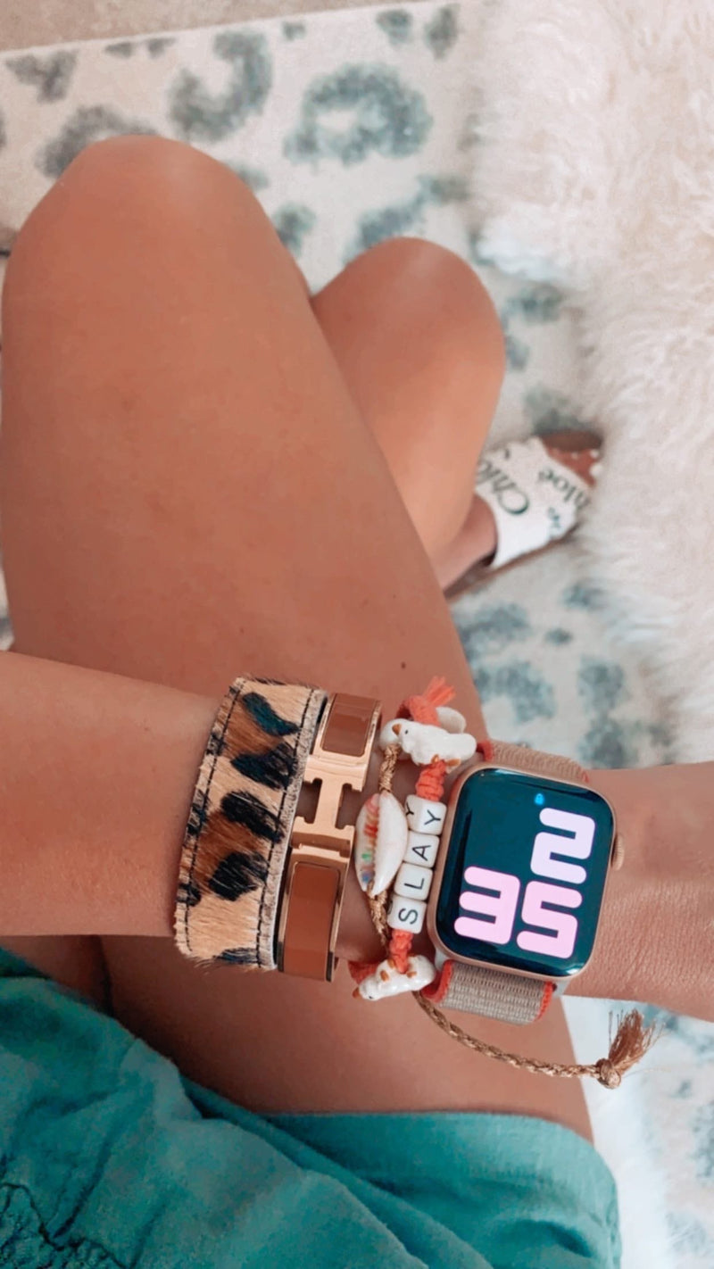 Authentic Cowhide Snap Bracelets JEWELRY The Sis Kiss