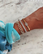 Lovely Links Gold Bracelet JEWELRY The Sis Kiss