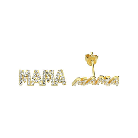 Mama Stud Earrings