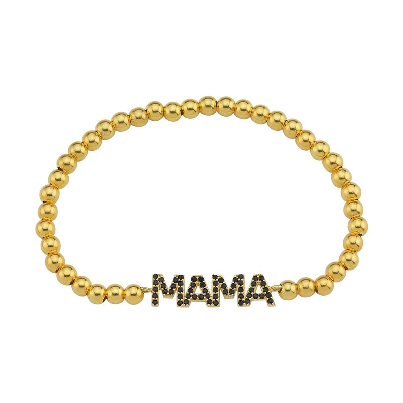 Mama Beaded Bracelet JEWELRY The Sis Kiss