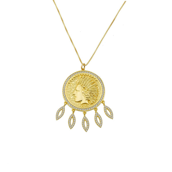 Chief Coin Necklace