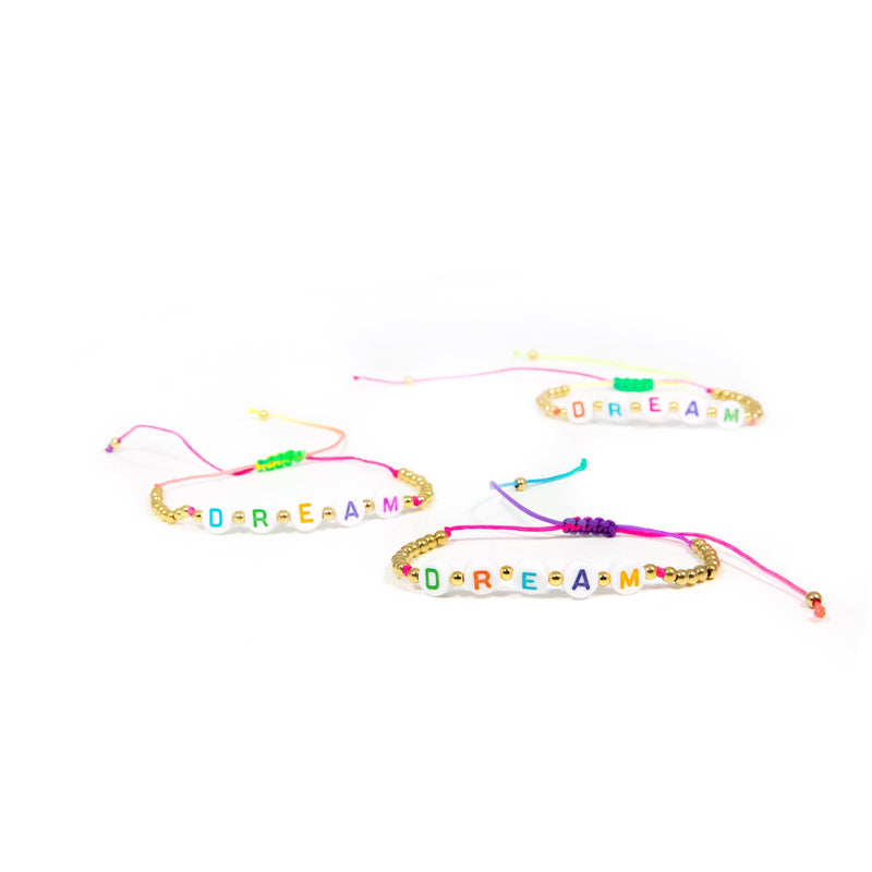 Rainbow Bead Dream Bracelet JEWELRY The Sis Kiss